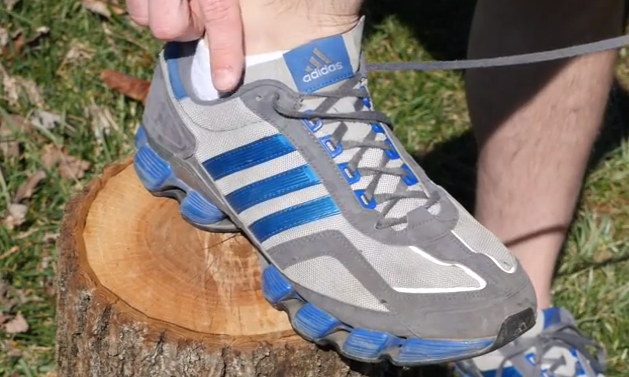 how to use the extra shoe lace hole.