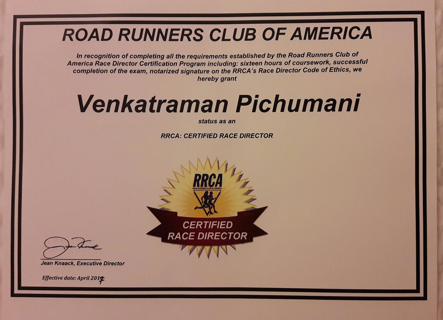 You Too Can Run.. » India\'s First Race Director by the Road Runners ...