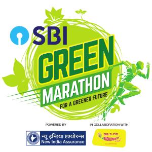 SBI Green Marathon Logo New
