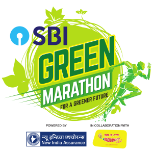 SBI Green Marathon Logo New