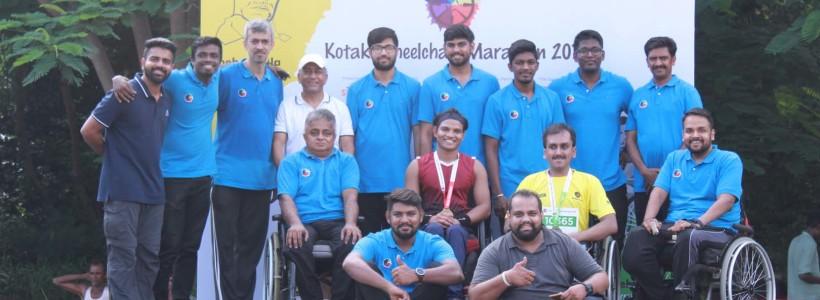 Kotak Wheelchair Marathon